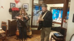 Karen Michael Warner and I performing